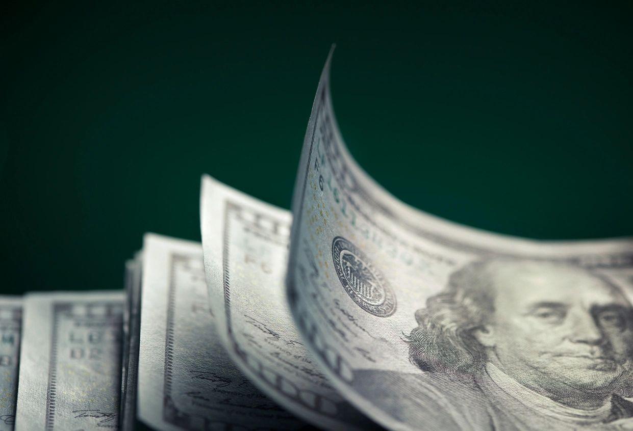 Financial business website